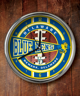 Delaware Chrome Clock