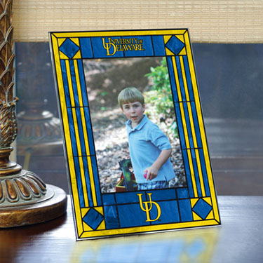 Delaware Portrait Art Glass Picture Frame