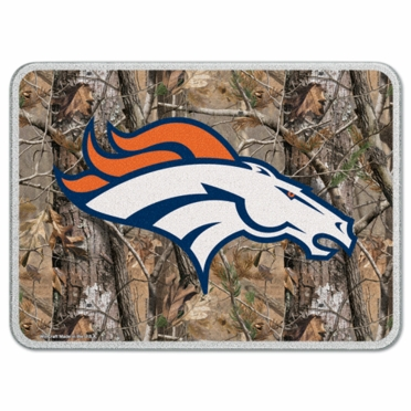 Denver Broncos 11 x 15 Glass Cutting Board (Realtree)