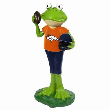 Denver Broncos 12 Inch Frog Player Figurine