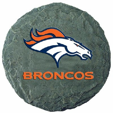 "Denver Broncos 13.5"" Stepping Stone"