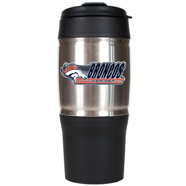 Denver Broncos Heavy Duty Travel Tumbler