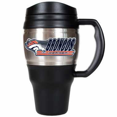 Denver Broncos 20oz Oversized Travel Mug