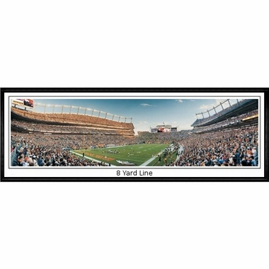 Denver Broncos 8 Yard Line Framed Panoramic Print