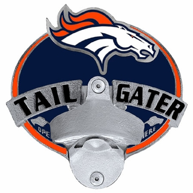 Denver Broncos Bottle Opener Hitch Cover