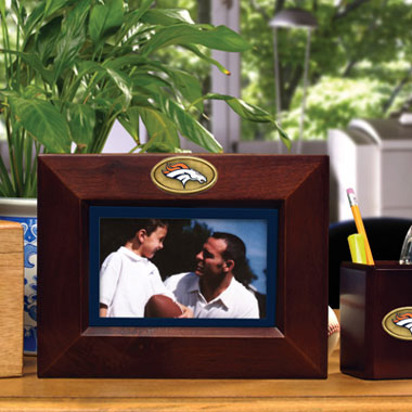 Denver Broncos BROWN Landscape Picture Frame