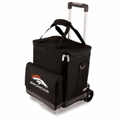 Denver Broncos Cellar w/Trolley (Black)