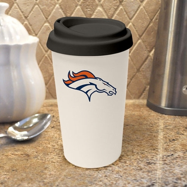 Denver Broncos Ceramic Travel Cup