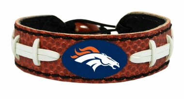 Denver Broncos Classic Football Bracelet