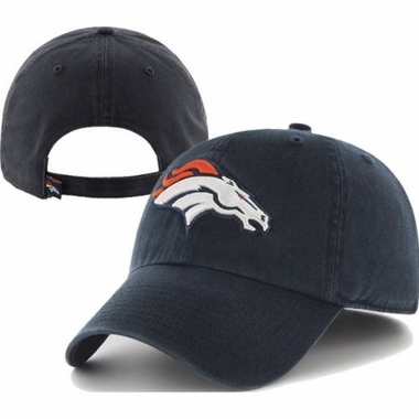 Denver Broncos Cleanup Adjustable Hat
