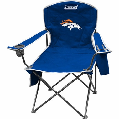 Denver Broncos Cooler Quad Tailgate Chair
