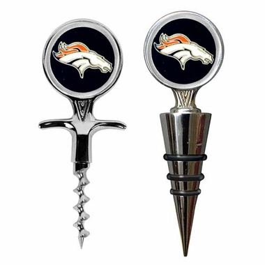 Denver Broncos Corkscrew and Stopper Gift Set