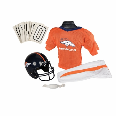 Denver Broncos Deluxe Youth Uniform Set