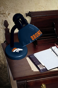 Denver Broncos Dorm Lamp