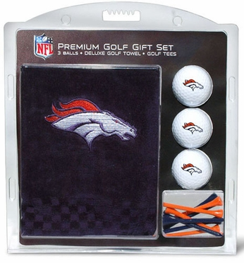 Denver Broncos Embroidered Towel Gift Set