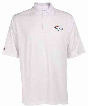 Denver Broncos Mens Exceed Polo (Color: White)