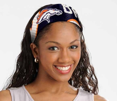 Denver Broncos FanBand Hair Band
