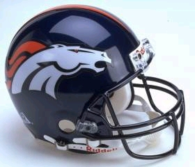Denver Broncos Full Sized Replica Helmet