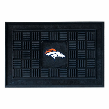 Denver Broncos Heavy Duty Vinyl Doormat