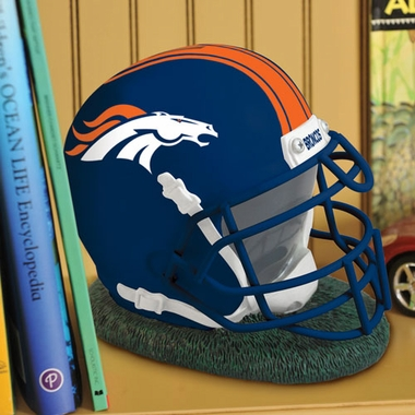 Denver Broncos Helmet Shaped Bank