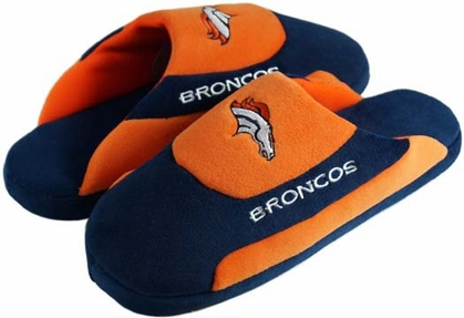 Denver Broncos Low Pro Scuff Slippers