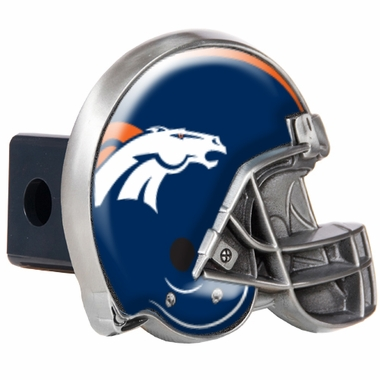 Denver Broncos Metal Helmet Trailer Hitch Cover