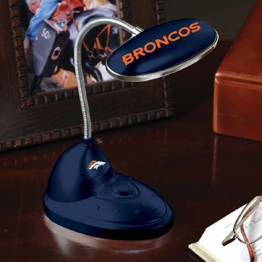 Denver Broncos Mini LED Desk Lamp