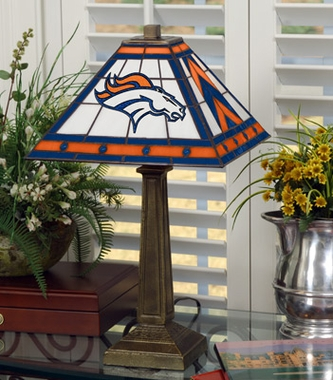 Denver Broncos Mission Lamp