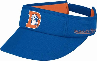 Denver Broncos Mitchell & Ness Throwback Adjustable Summer Visor