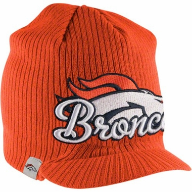 Denver Broncos New Era NFL Retro Viza Visor Knit Hat