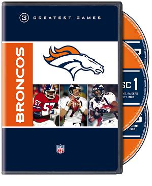 Denver Broncos NFL Greatest Game Series
