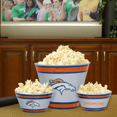 Denver Broncos Plastic Serving Set
