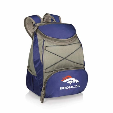 Denver Broncos PTX Backpack Cooler (Navy)