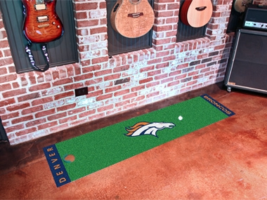 Denver Broncos Putting Green Mat