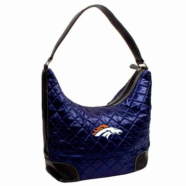 Denver Broncos Quilted Hobo Purse