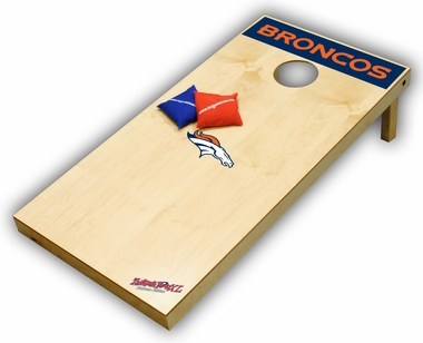 Denver Broncos Regulation Size (XL) Tailgate Toss Beanbag Game