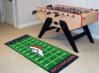 Denver Broncos Runner Rug