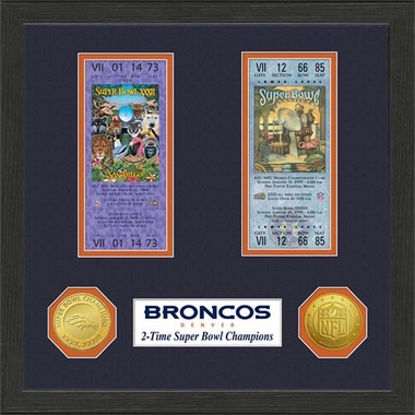Denver Broncos Denver Broncos SB Championship Ticket Collection