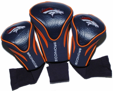 Denver Broncos Set of Three Contour Headcovers