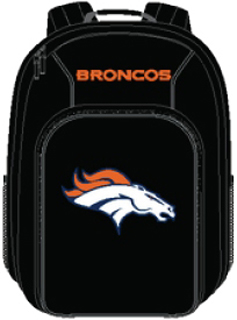 Denver Broncos Southpaw Youth Backpack