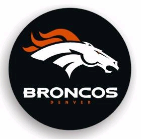 Denver Broncos Spare Tire Cover (Small Size)