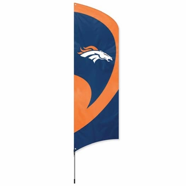 Denver Broncos Tall Team Flag