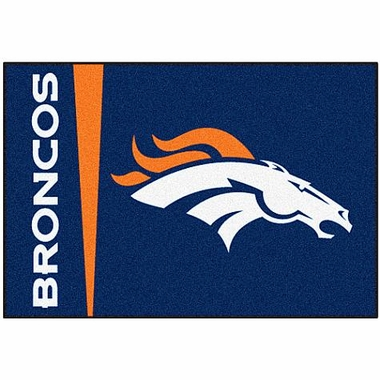 Denver Broncos Uniform Inspired 20 x 30 Rug