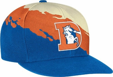 Denver Broncos Vintage Paintbrush Snap Back Hat