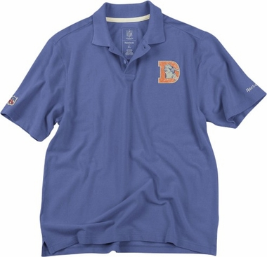 Denver Broncos Vintage Retro Polo Shirt