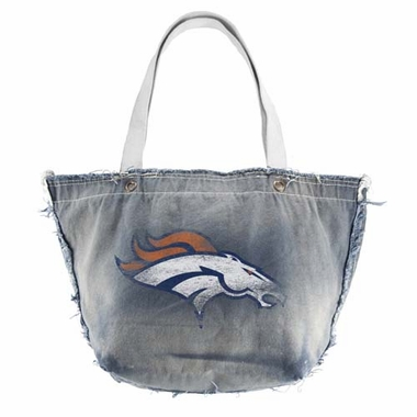 Denver Broncos Vintage Tote (Denim)