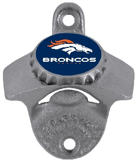 Denver Broncos Wall Mount Bottle Opener