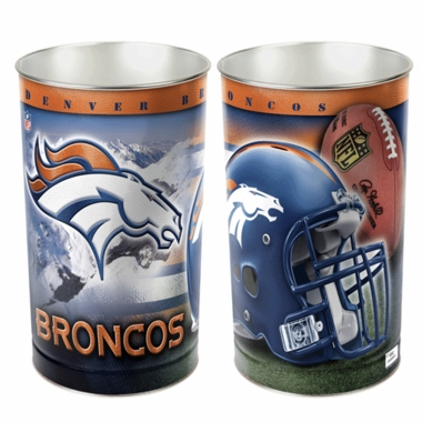 Denver Broncos Waste Paper Basket