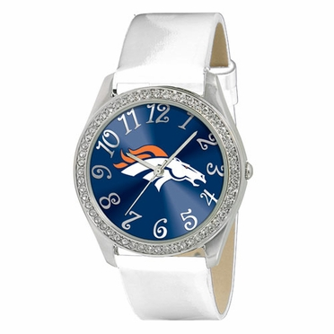 Denver Broncos Women's Glitz Watch