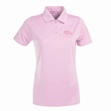 Denver Broncos Womens Exceed Polo (Color: Pink)